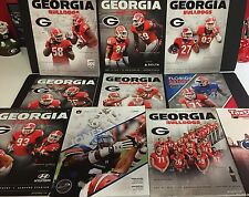 University of Georgia Bulldogs Football 2015 Program Season Set -  Nick Chubb