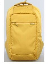 "NEW NWT Yellow incase Backpack Bag Nylon 17"" MacBook Pro Can Fit Up To"