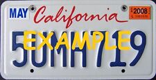 HO 1:87 MONSTER LICENSE PLATES -MODERN 2001+ CALIFORNIA MODEL VEHICLE CARS TRUCK