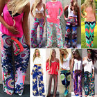 Women Harem Aladdin Loose Gypsy Yoga Long Pants Palazzo Trousers Baggy Bottom