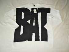 "New Women's Forever 21 ""Bats & Cats"" White & Black Sweater - Size L - NWT"