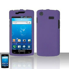 Rubber Dr Purple Hard Case Cover Samsung Captivate i897
