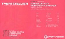 PAISES INDEPENDIENTES AFRICA  A-H . TOMO II . 2ª . CATALOGO YVERT&TELLIER 2013