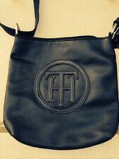 Tommy Hilfiger cross body messenger bag purse navy