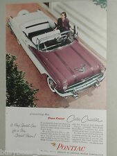 1956 Pontiac ad, Pontiac Star Chief Custom Convertible