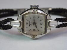 Vintage Lady's Wyler Incaflex Watch 10K Rolled Gold Plate 17 Jewels Cal. WC31