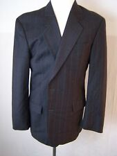 HUGO BOSS Casual Gray Two Button Down Wool Suit & Dress Pants Men's
