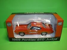 WEIL-McLAIN 1969 PONTIAC GTO JUDGE CLASSIC MUSCLE CAR REPLICA MODEL DIECAST MINT