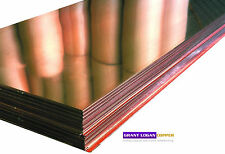"Copper Sheet .0216"" Thick - 16oz - 24 Ga - 24""x96"" - FREE 48 STATE SHIPPING"