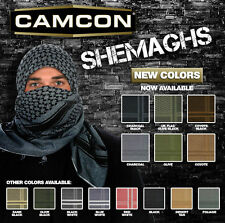 Sniper Shemagh Face Scarf Coyote/Black Tactical Concealment Military Camcon61033