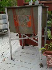 Vintage GUNK WASH TUB on Wheels