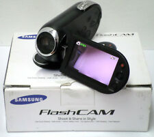 Samsung SMX-C10 Camcorder - Black PAL and 4GB SD Card