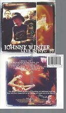 CD--JOHNNY WINTER--LIVE IN NYC '