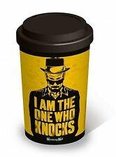 Breaking Bad Thermal Travel Cup Silicone Lid I Am The One Who Knocks Mug Gift