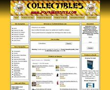 MAKE MONEY ONLINE RESIDUAL INCOME COLLECTIBLES SHOP ONLINE BUSINESS WEBSITE SALE