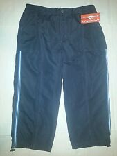 Cheetah Ladies Woven Capri size large L color smoke 100% Polyester