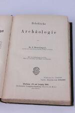 J. Benzinger-ebraica archeologia