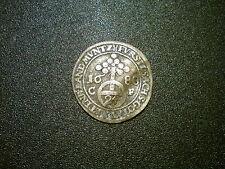 1688 GERMANY STATES SAXE-GOTHA-ALTENBURG 1/24 SILVER THALER COIN. NICE GRADE