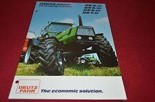 Deutz Fahr DX 4.70 DX 6.30 DX 6.50 DX 7.10 Tractor Dealer's Brochure DCPA2