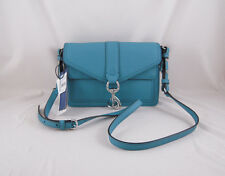 Rebecca Minkoff Hudson Moto Mini in Teal NWT