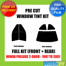 HONDA PRELUDE 2-DOOR 1997-2001 FULL PRE CUT WINDOW TINT KIT