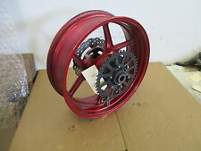 05 06 KAWASAKI 636 REAR WHEEL WITH SPROCKET AND ROTOR 636 REAR WHEEL KAWASAKI