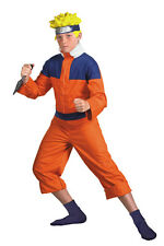 CHILDRENS BOYS TV & MOVIE CHARACTERS NARUTO DLX FANCY DRESS COSTUME - TEEN 38/40