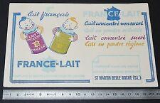 BUVARD 1950 FRANCE-LAIT LAIT CONCENTRE EN POUDRE ST MARTIN BELLE ROCHE