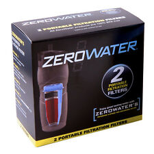 ZeroWater ZR-230 Replacement Filtered Tumbler Water Filter (2 Pack)