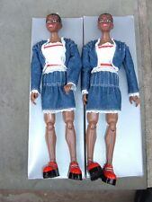 The Sims Doll (African- American) Bulk lot of 2 dolls  12""
