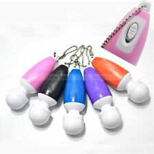 1 Pcs Mini Key-Chain Portable Full Body Massage Stick Vibrate Relaxing Massager
