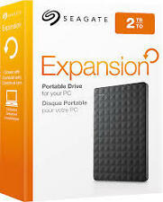 2TB Seagate Expansion External HardDisk Drive 2.5''Usb 3.0 HDD STEA2000400..