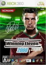 Used Xbox  360 Winning Eleven 2008 MICROSOFT JAPAN JP JAPANESE JAPONAIS IMPORT