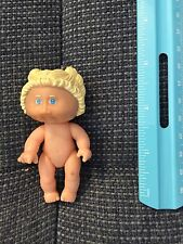 """1983 3"""" Jointed Plastic Cabbage Patch  Doll Miniature Baby Play Toy GUC"""