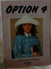 Option 4 / LK150 Knitmaster Silver Machine Knitting Pattern Book - M706