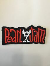 Pearl Jam Embroidered Patch Iron on or Sew on