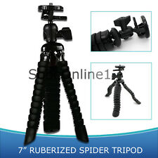 "7"" Flexible Compact Tripod for Canon PowerShot A ELPH CoolPix S"