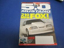5.0 Mustang & Super Fords Magazine, July 2013,210MPH Fox, Tyler Garcia (#2)