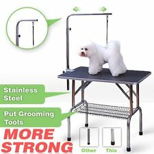 48'' Heavy Duty Portable Pet Dog Cat Profession Dog Show Fold Grooming Table