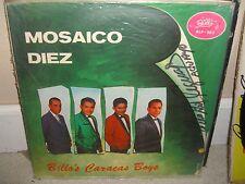 Billo's Caracas Boys - Mosaico 10 - Felipe Pirela Rare LP in Great Conditions L3