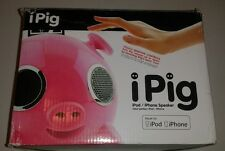 Amethyst Innovations AIP0809 Docking Pig Speaker Pink 30-Pin iPod/iPhone