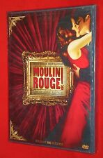 NEW Moulin Rouge Widescreen DVD Nicole Kidman Baz Luhrman Nudity English Spanish