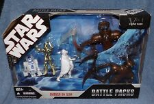 STAR WARS BATTLE PACKS 2006 AMBUSH ON ILUM SET