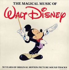 The MAGICAL MUSIC of WALT DISNEY (1978) SEALED! 4-Record SET 50 YEARS of MUSIC!