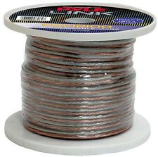 NEW Pyle PSC12100 12 Gauge 100 ft. Spool of High Quality Speaker Zip Wire