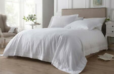 ELEGANT HOME ELOISE DOUBLE BEDDING DUVET SET 100% COTTON 200 THREAD COUNT