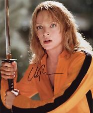 UMA THURMAN ~ AMERICAN ACTRESS / MODEL ~ HAND-SIGNED 10X8 PHOTO + COA [Ref.2]