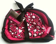 WOMANS COSMOPOLITAN COSMETIC LADIES BAG COMES IN TRIO MAKE-UP BAG WITH ZIP NEW