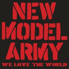 New Model Army(CD/DVD Album)We Love The World-Secret-SECDP070-UK-New & Sealed/