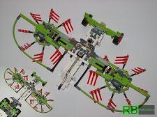 RBi Bauanleitung 42054 großer Schwader Eigenbau Claas Xerion MOC aus LEGO® Stein